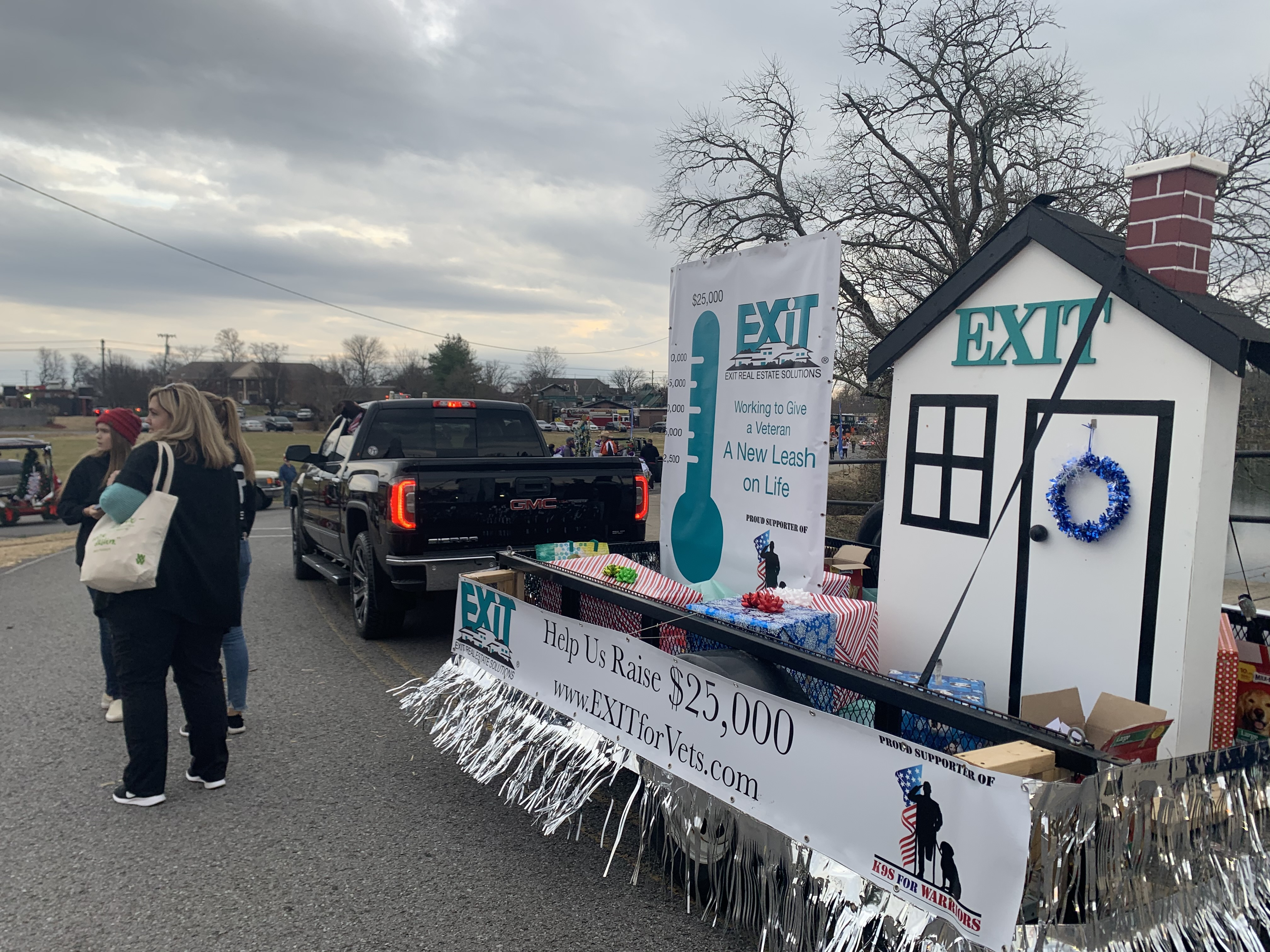 Hendersonville Christmas Parade With EXIT Real Estate Solutions and K-9's For Worriors Project
