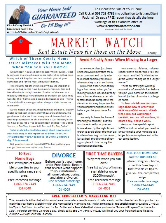 Market Watch Newsletter January 2019