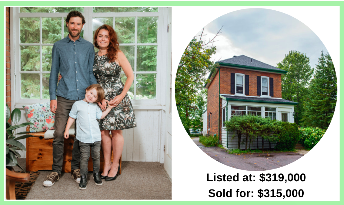 A Toronto family wanted to escape Covid, so they bought a house outside Toronto for only $315,000