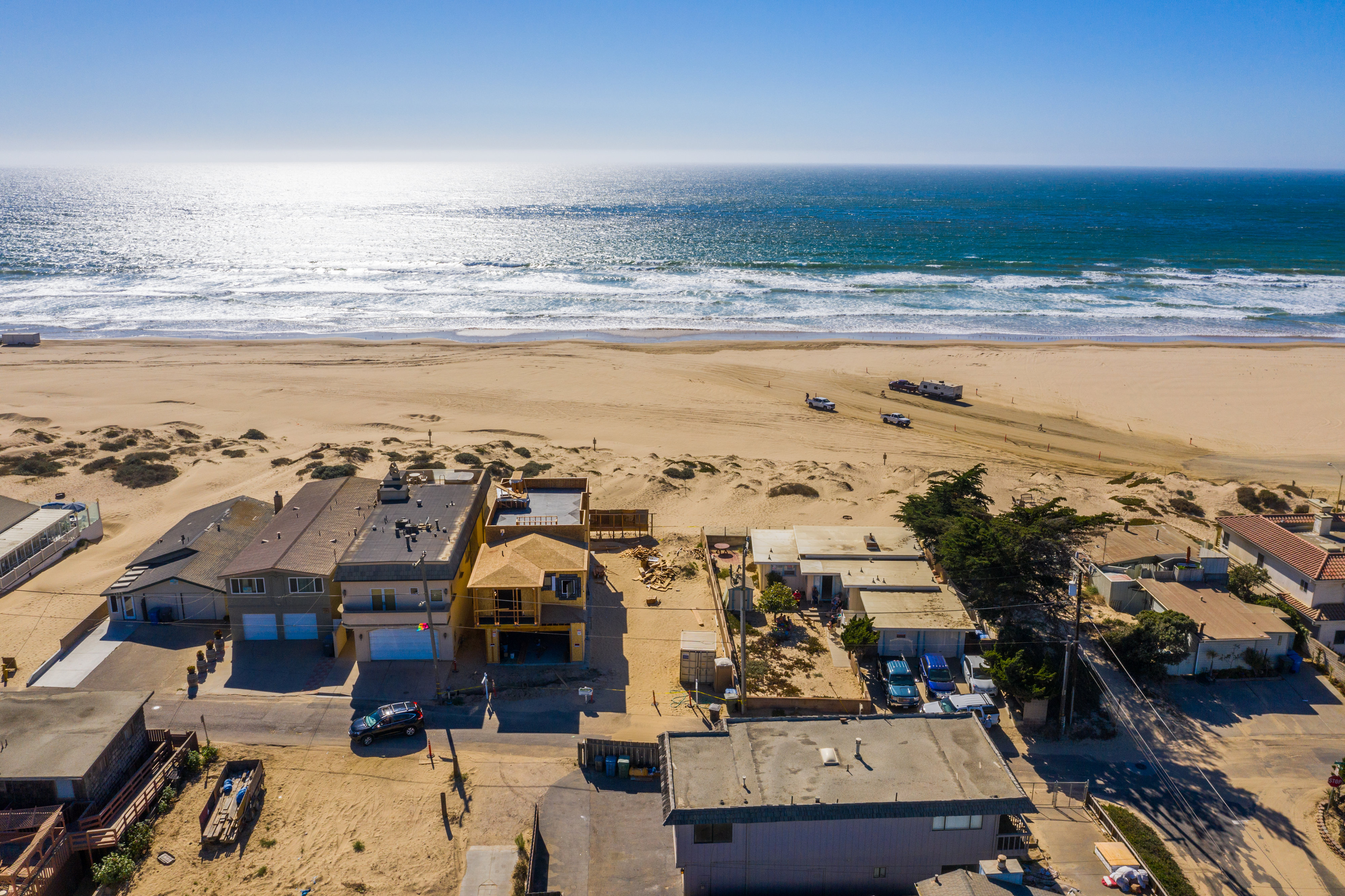Beach Living Can Be Yours!  New Ocean Front Property On CA's Central Coast