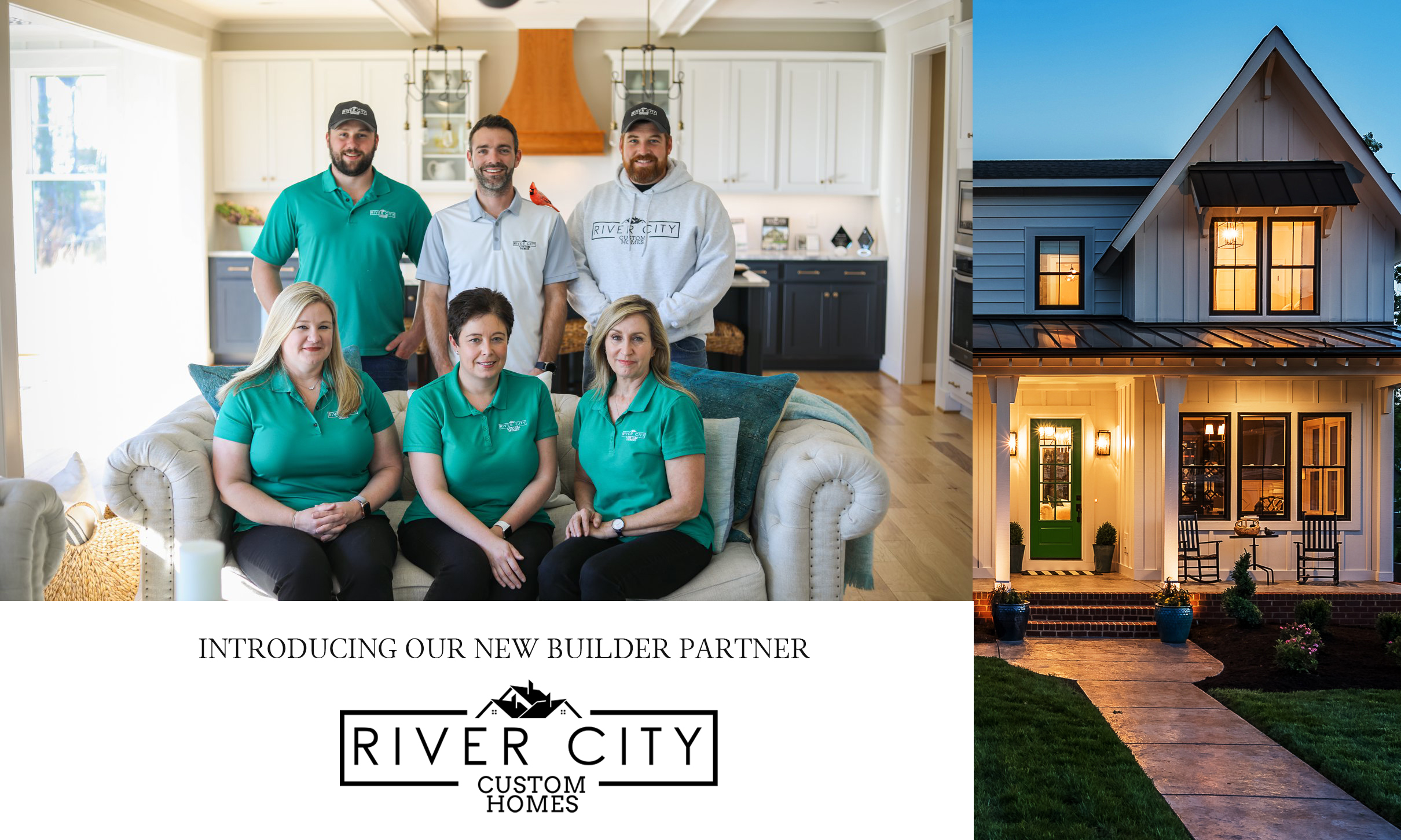 The Yeatman Group of Long & Foster Real Estate to Represent River City Custom Homes