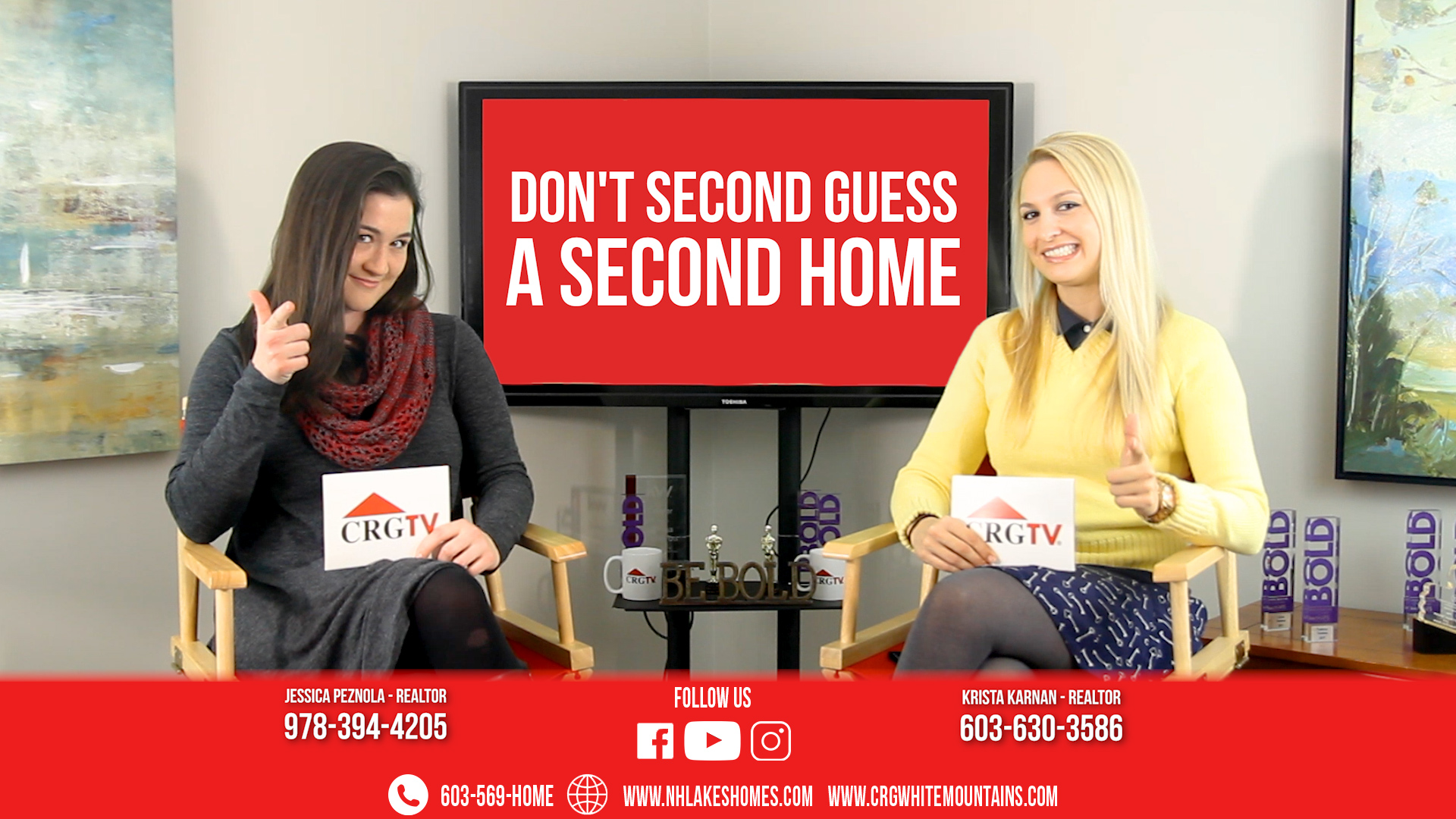 CRGTV: Top 5 Reasons to Buy a Second Home