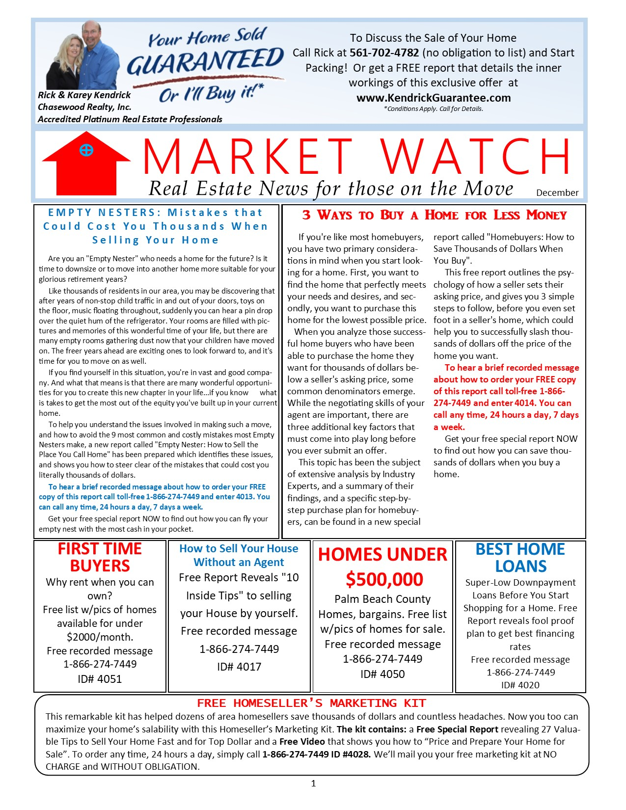 Market Watch Newsletter December 2018