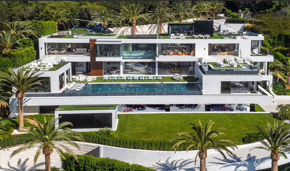 Where Would You Park Your Helicopter? Check Out The Most Expensive Home In The US!!