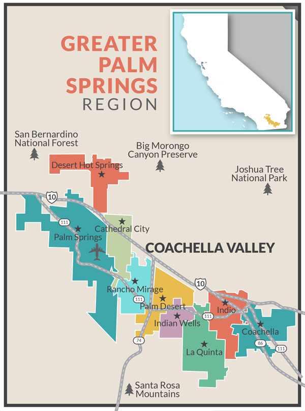 Greater Palm Springs Region