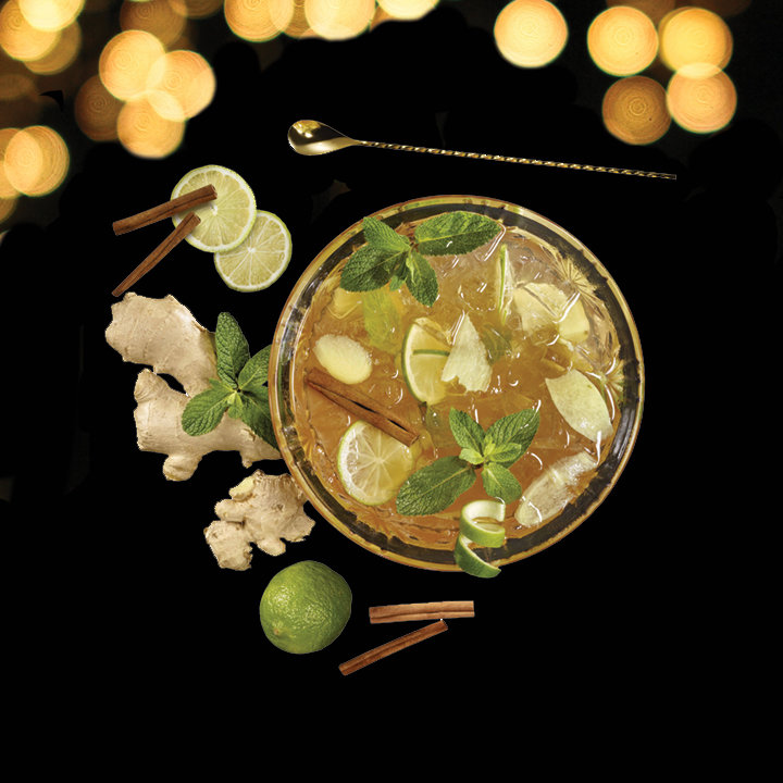 'Drink of the Week' Ginger Mint Punch
