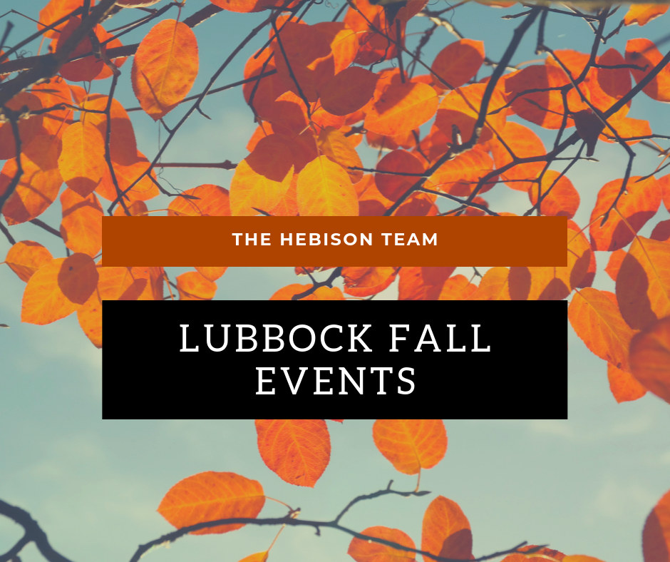 Lubbock Fall Events
