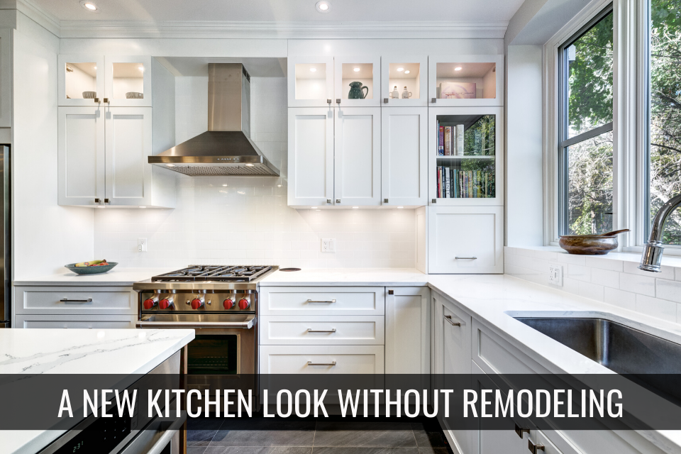5 Perfect Kitchen Upgrades for a New Look Without Remodeling