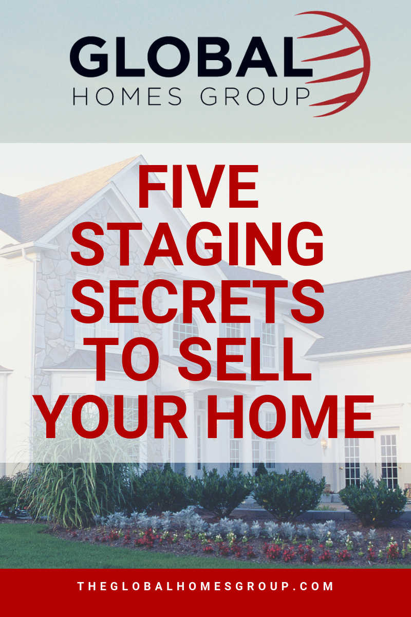 Five Staging Secrets to Sell Your Home