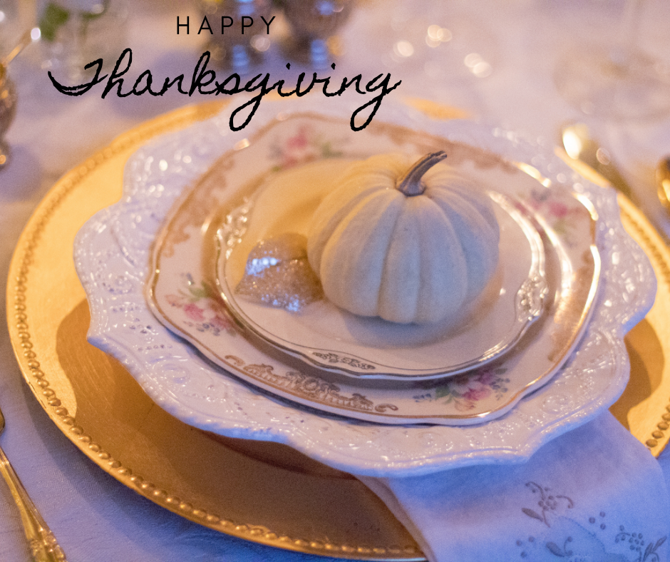 Tablescapes for Thanksgiving