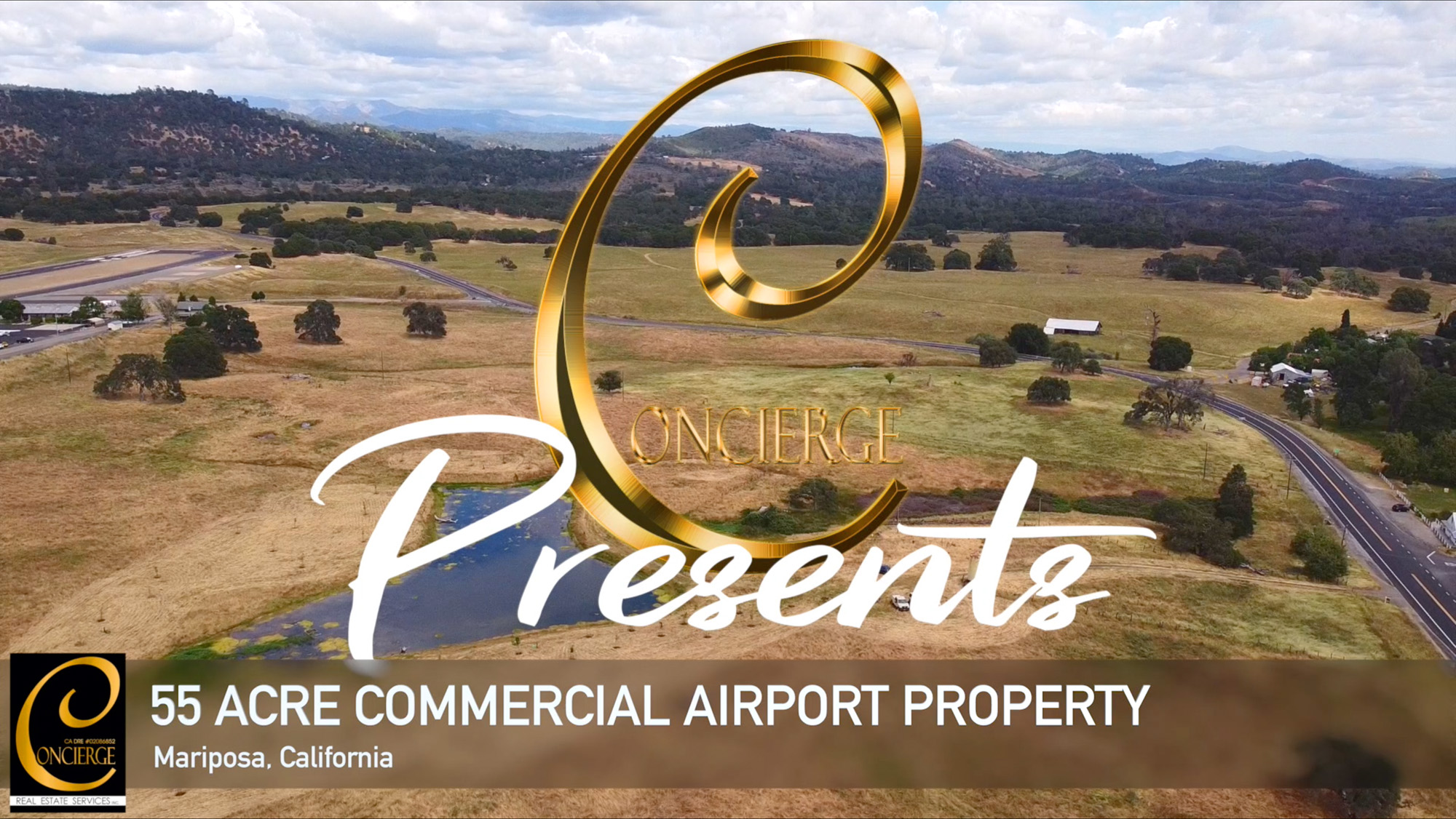Concierge Presents... 55 Acre Commercial Property near Airport