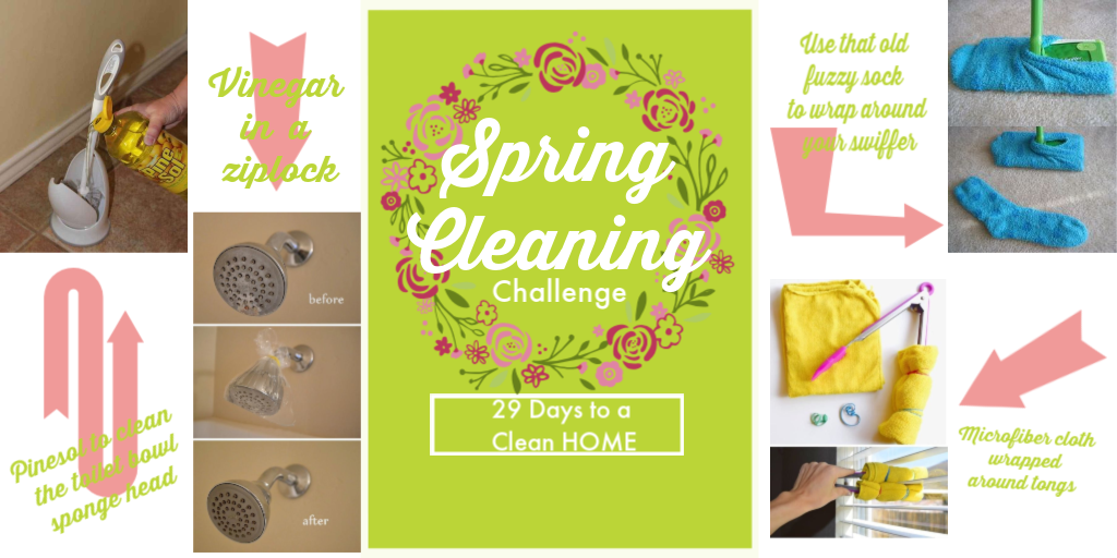 29 Day Spring Cleaning Challenge
