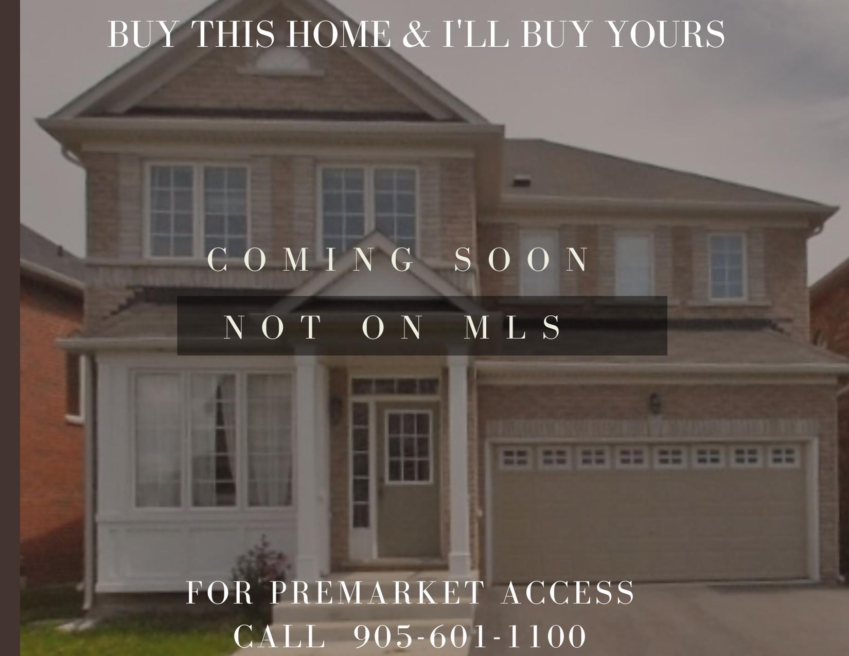 Pre Market Home! Call today 416-884-1359
