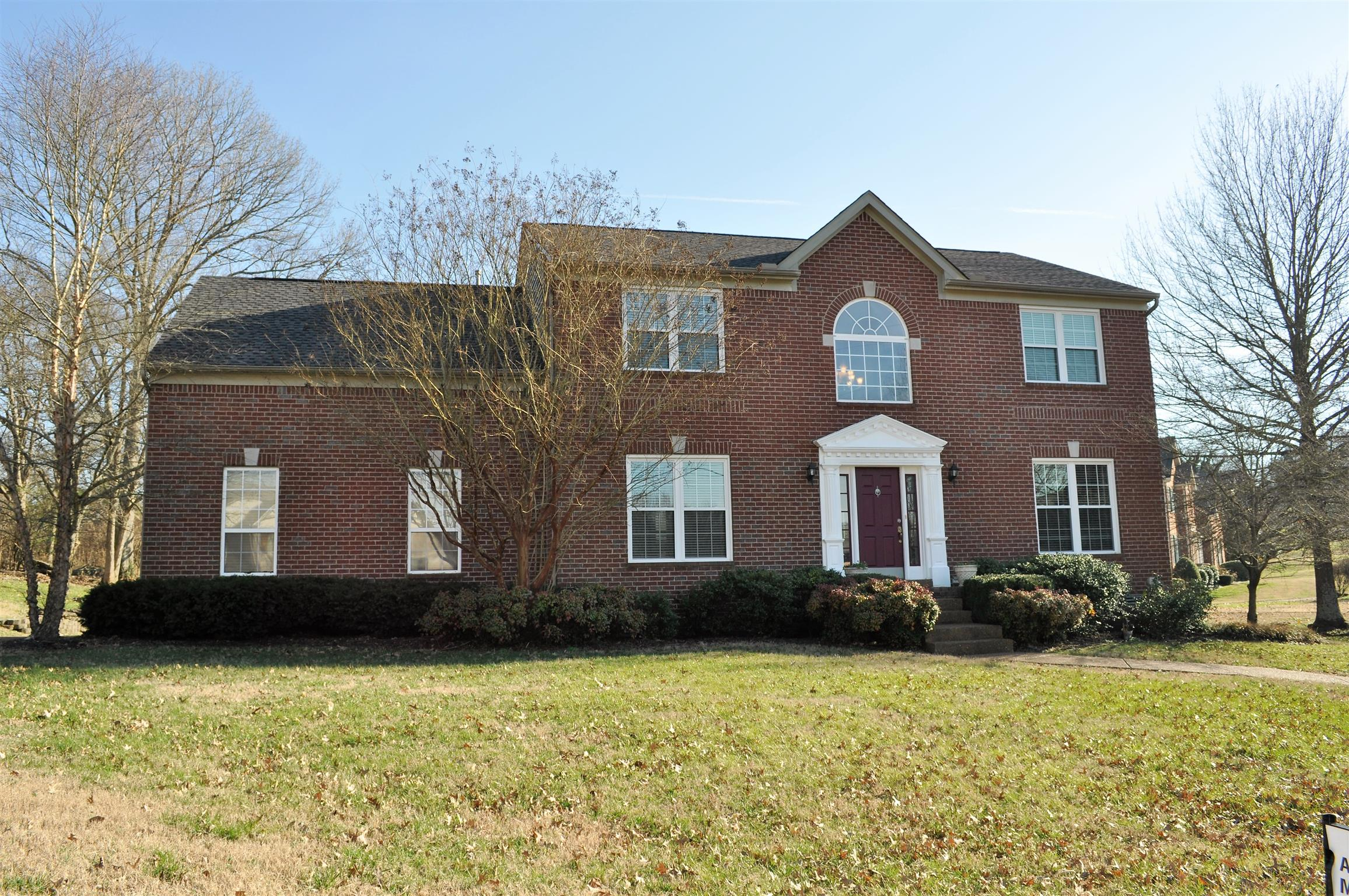 Beautiful Home  Sitting On Over Half Acre Corner Lot at 242 Spy Glass Way, Hendersonville, TN.  37075