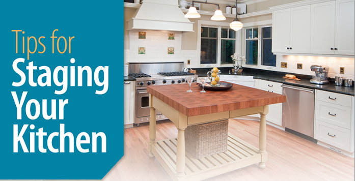 8 Tips For Staging Your Kitchen