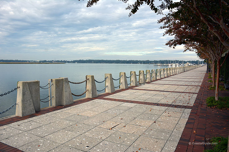 Henry C Chambers Waterfront Park is a true Gem of the Beaufort Area!