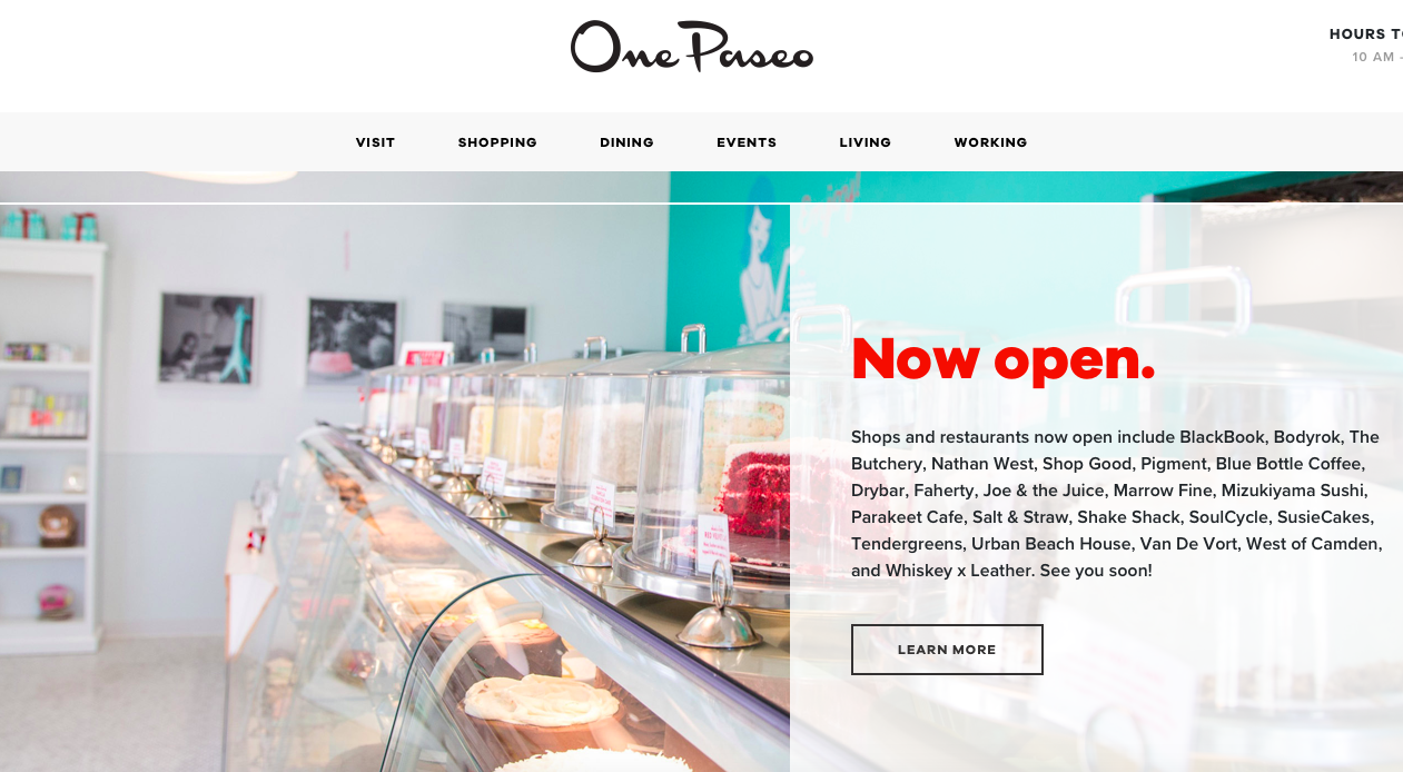 Carmel Valley's Latest Hit—One Paseo