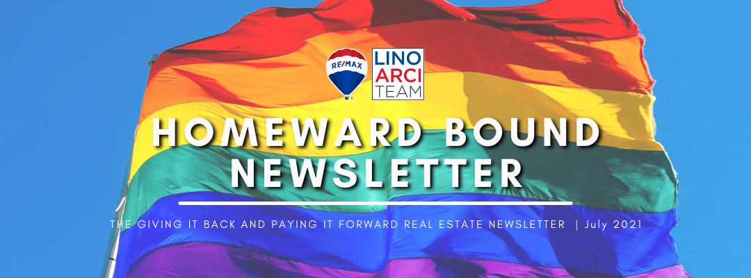 Homeward Bound Newsletter - July 2021 | Lino Arci Team