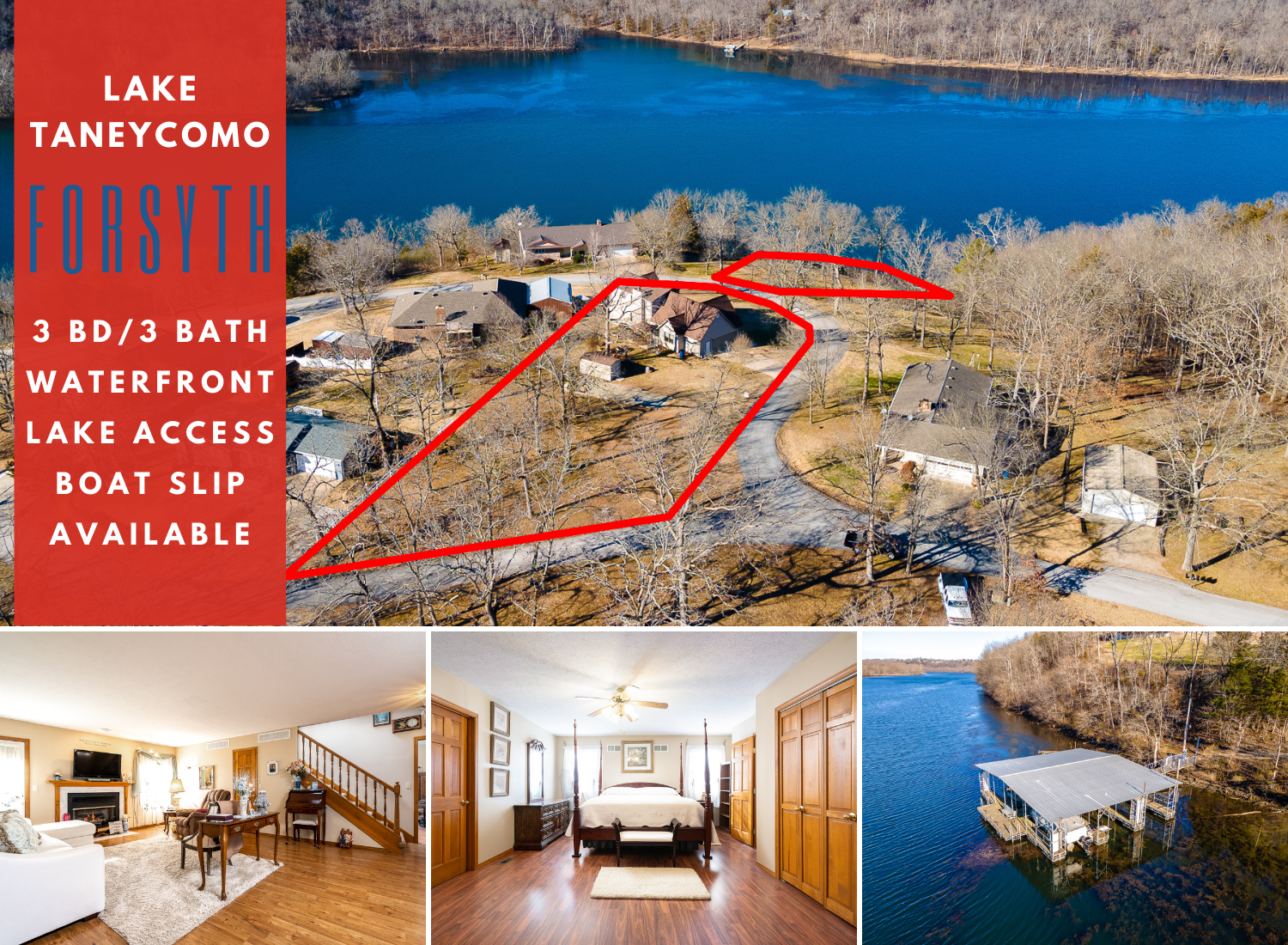 Lake Taneycomo | 562 Cope Lane | MLS #60182230
