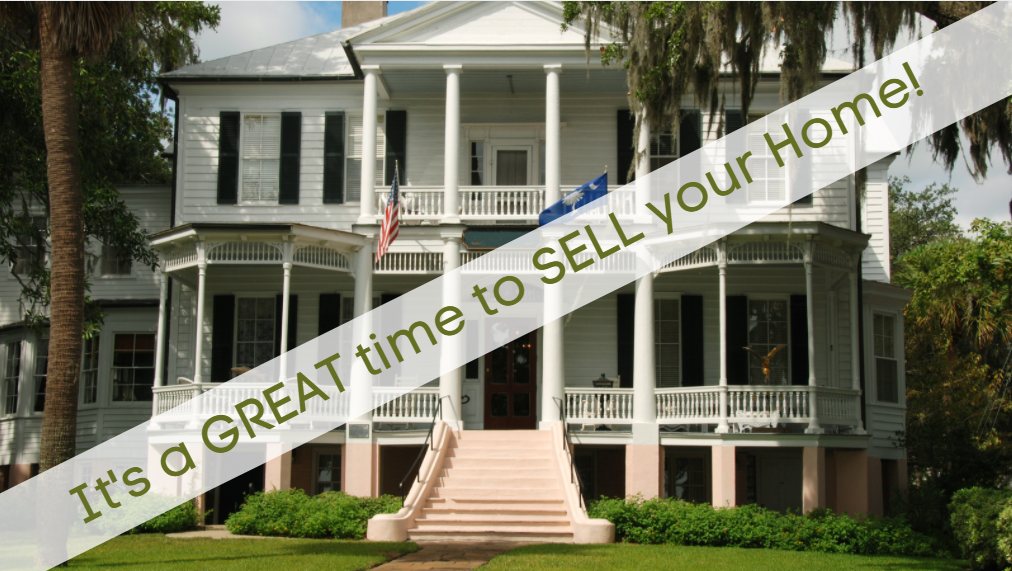 Don't Wait to SELL your Lowcountry Home!  The Time is NOW!