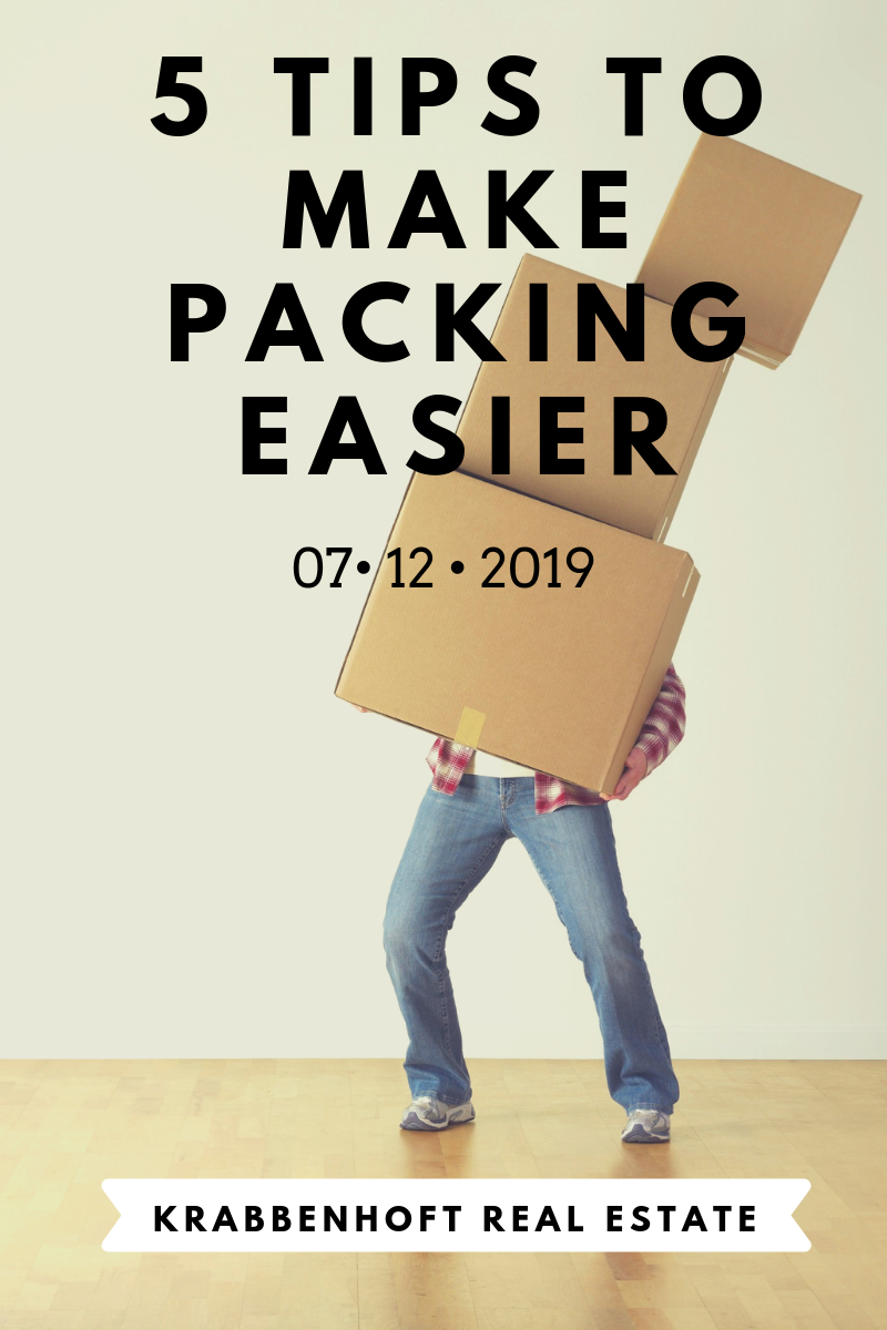 5 Tips To Make Packing Easier