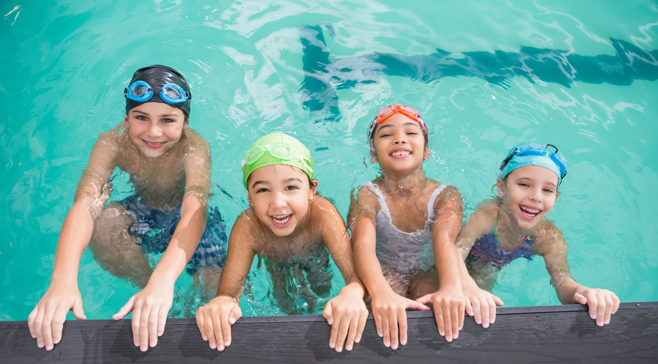 Sign up for free swimming lessons for kids in Houston
