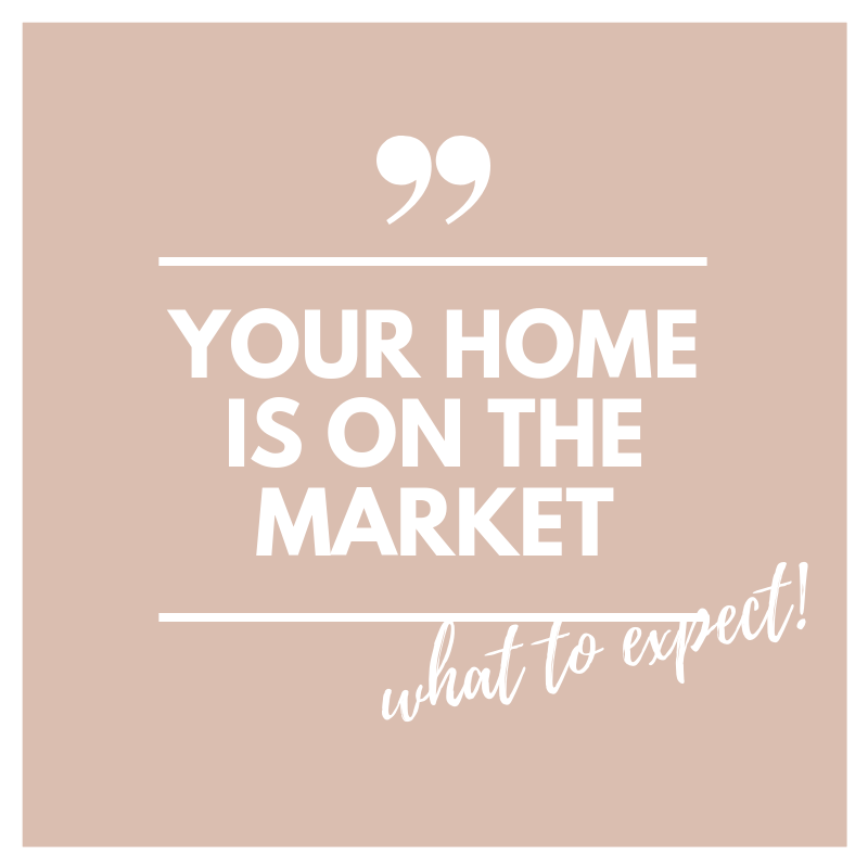 What to Expect When You List Your Home...