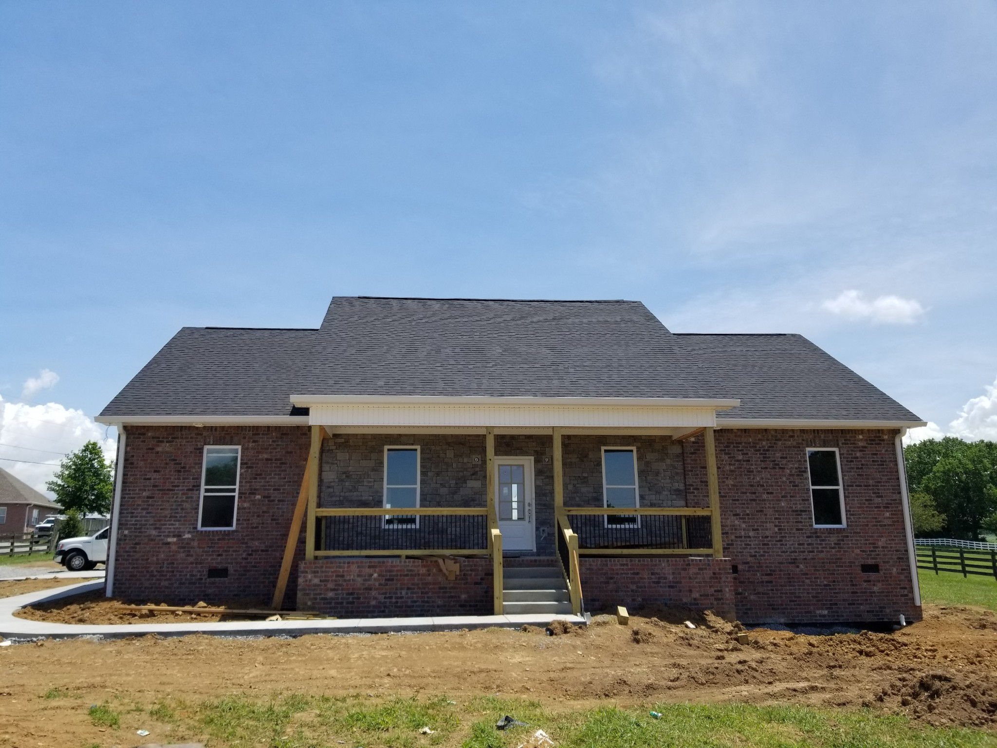 Brand New 4 BR/3 BA Home Situated On Nearly 2 Acre Lot!  782 Rock Springs Rd., Castalian Springs, TN.  37031