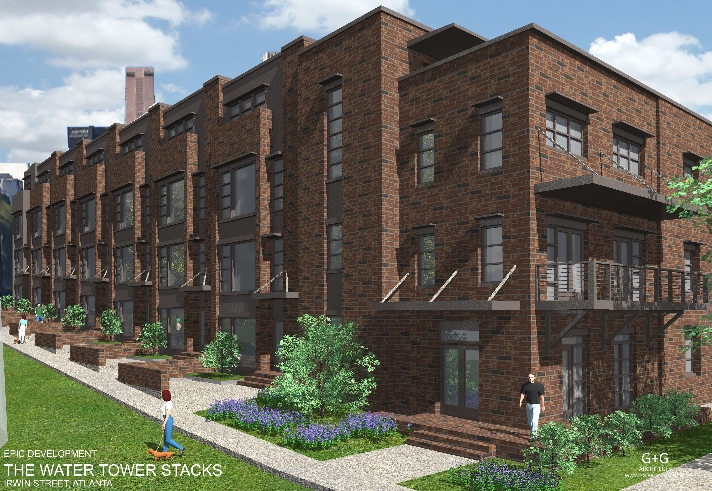 Urban Townhome Units Coming to the Old Fourth Ward